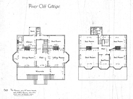 Simple house drawings architect drawing house plans for River cabin plans