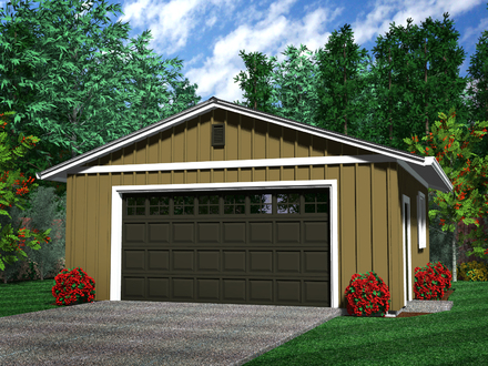 Rustic Detached 2 Car Garage 2 Car Detached Garage Plans