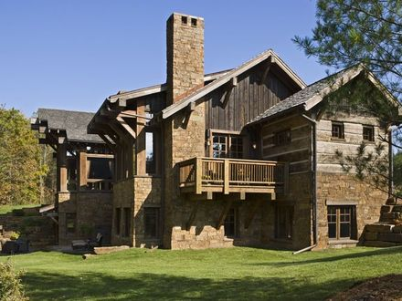 Rustic Exterior Home Designs Single Story Home Exterior Design