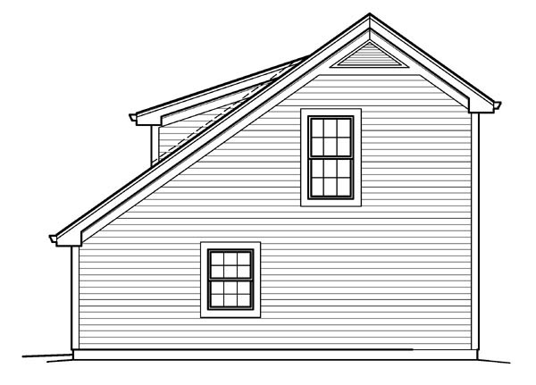 Saltbox house plans with garage saltbox garage plans for Saltbox garage plans