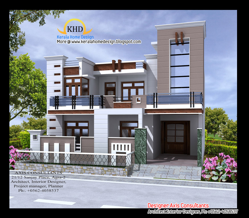 Simple Front Elevation Of House Front Elevation Indian