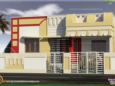 Simple House Elevations Small Indian House Elevation Design