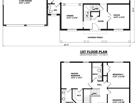 Vintage Bungalow House Plans Bungalow Floor Plans Canada