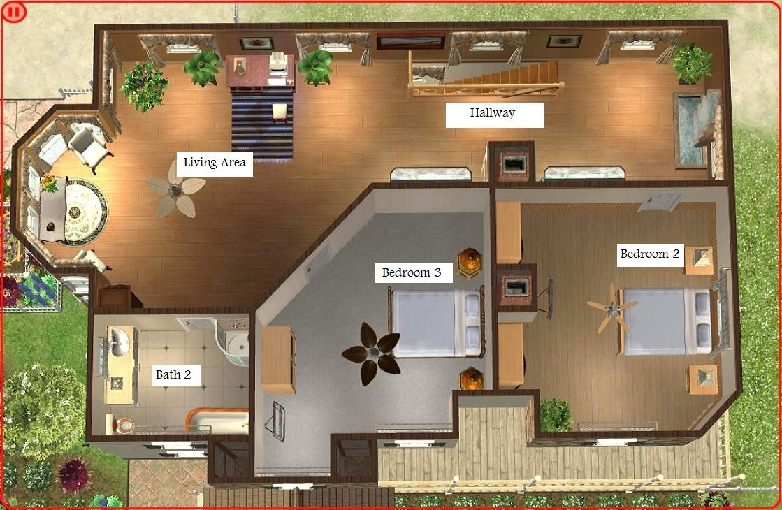 Sims 3 Modern Mansion Floor Plans: Sims 3 Modern House Floor Plans Sims 3 House Floor Plans