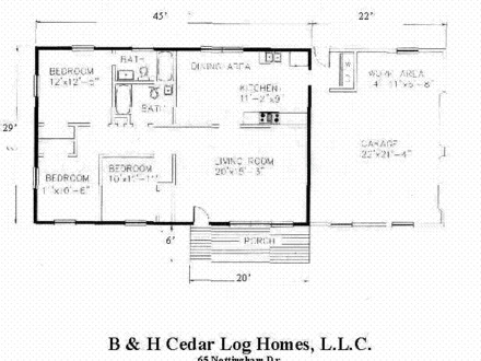 Small Log Cabin Floor Plans Log Cabin Kitchens