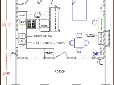 Tiny Houses On Wheels Floor Plans Tiny Simple House Floor Plan