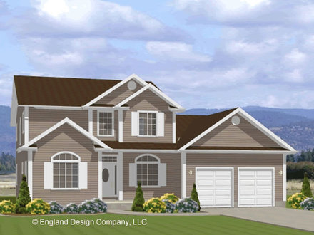 Two Story House Plan Two-Story House Plans Mansion