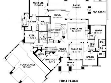 3-Bedroom Section 8 Houses 3 Bedroom Craftsman House Floor Plans