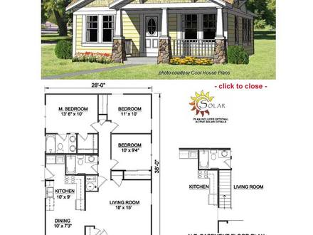 Arts and Crafts Bungalow Floor Plans Arts and Crafts Cottage