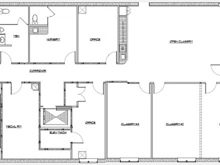 Medical office layout floor plans medical office floor for Design basement layout online free