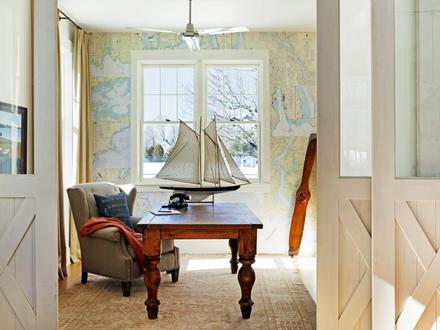 Coastal Home Office Decor Coastal Office Furniture