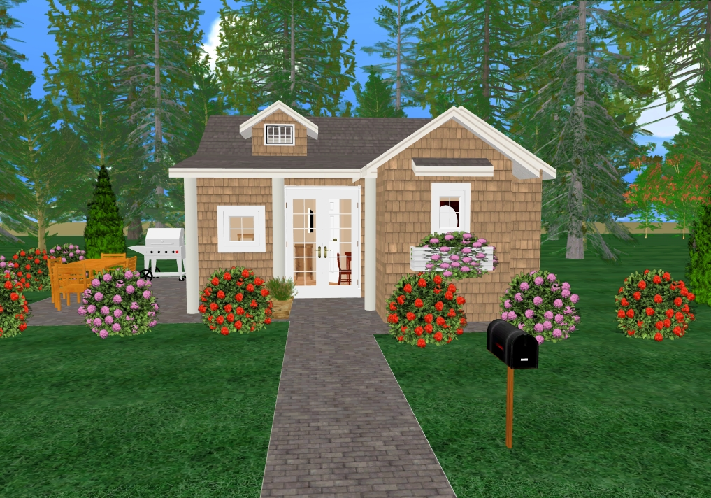 Cozy small house plans simple small house floor plans for Cozy cottage plans