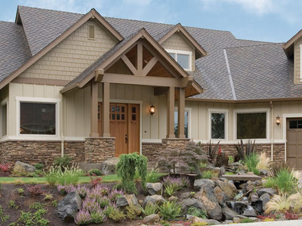Craftsman Style Homes with Stone Craftsman Style Homes with Porches