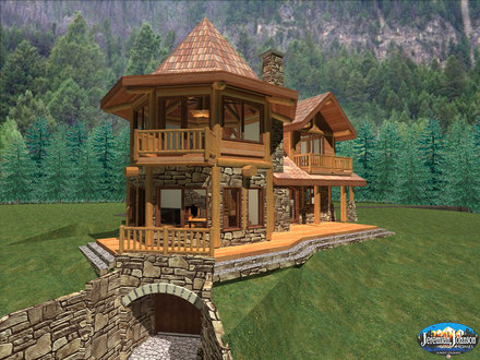 Custom Log Cabin Homes Colorado Huge Log Homes