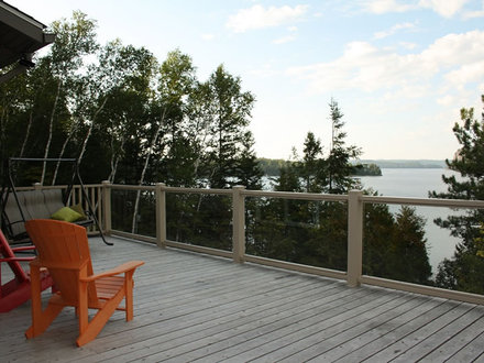 Deck Handrail Styles Country Cottage Style Decks