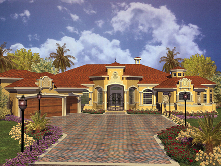 Dutch Style House Spanish Style Homes House Plans