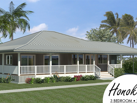 Old hawaiian style houses hawaiian style house polynesian for Home plans hawaii