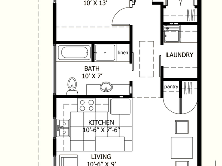 Afb9251616af4eca Senior Living Floor Plans 800 Sq Ft 800 Sq Ft Small House Interiors Photos on house plans 600 sq ft