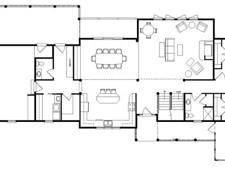 Lodge Log Homes Floor Plans Log Lodge Designs