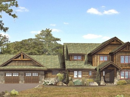 Log Cabin Homes Lodge Log Homes Floor Plans