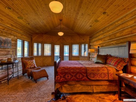 Log Home Luxury Bath Luxury Log Home Bedrooms