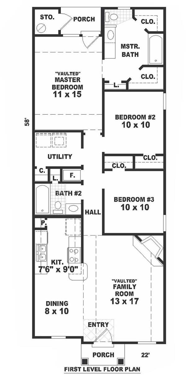 long narrow house floor plans long narrow living room ideas narrow bungalow house plans