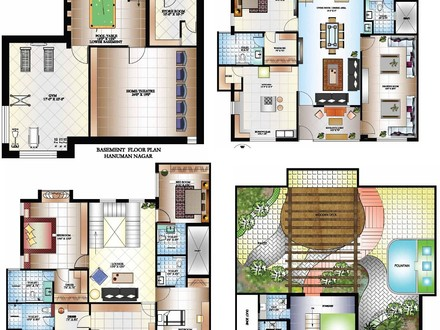 Luxury Bungalow Floor Plans Luxury Home Plans and Designs