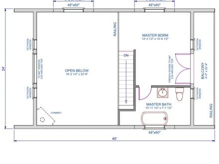 master bedroom loft house plans blueprints for 16x24 cabin 16x24 cabin plans with 19142