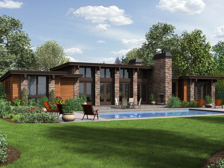 Modern Ranch House Plans Texas Ranch House Plans