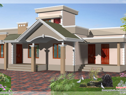 New Simple House Designs 1 Floor House Designs