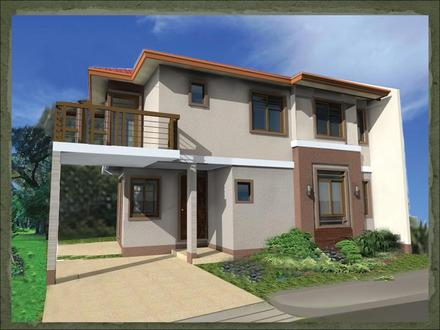 Philippine House with Balcony Designs Stone House with Balcony