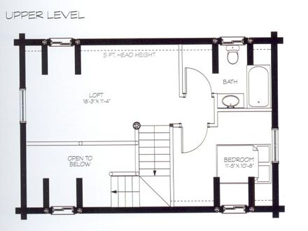 cabin floor plans with loft small cabin floor plans small