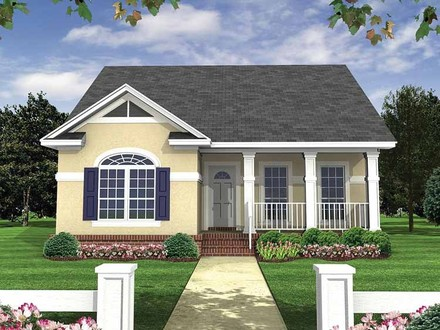 Small Bungalow House Plans Designs 3D Small House Plans
