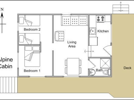 Small Cabin Blueprints Small Lake Cabin Floor Plans