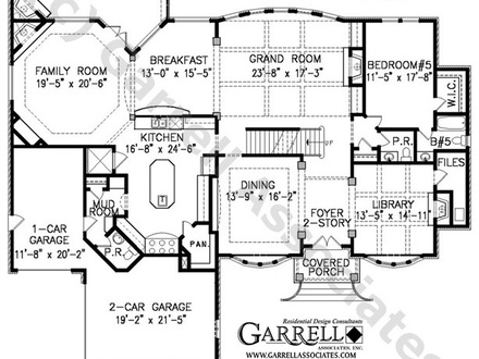 Two Story House Plan Nice Two-Story House Plans