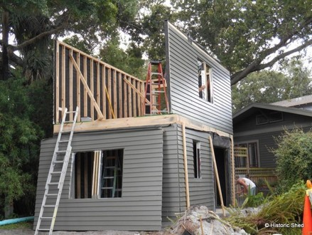 Two-Story Sheds Livable Two Story Shed Roof