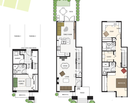 Mansion with servants quarters floor plans victorian for Victorian townhouse plans
