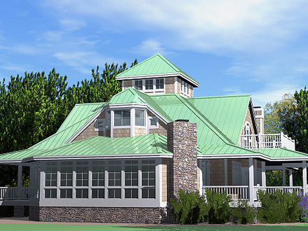 Beach Cottage Teal Southern Beach Cottage House Plans