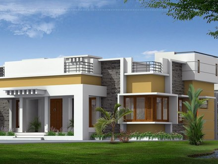 Best Single Floor House Designs Single Floor House Plans Large Rooms
