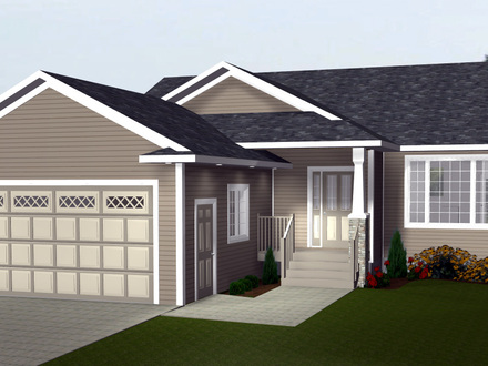 2 car garage ideas two car garage with apartment plans for House plans with portico garage