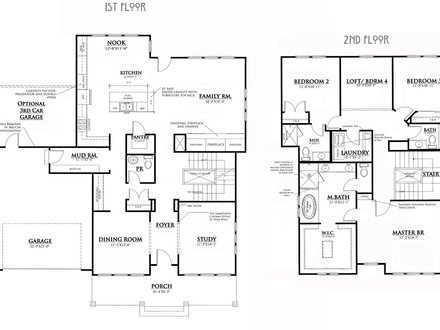 Bungalow House Plans with Porches Bungalow House Floor Plans
