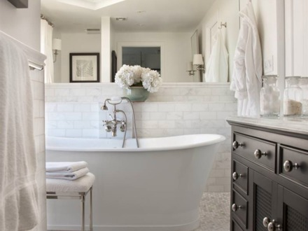 Cottage Style Bathrooms with Beadboard Cottage Style Bathroom