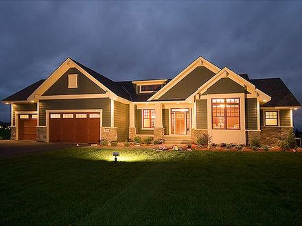 Craftsman Style House Plans for Ranch Homes Craftsman Style Floor Plans