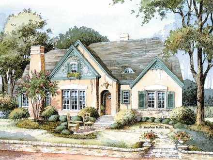 English Country Cottage House Plans Tiny Cottage Plans