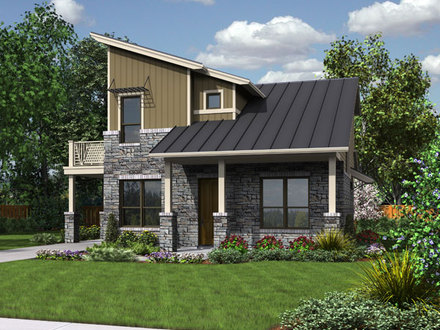Award winning small modern house plans award winning for Affordable 4 bedroom house plans