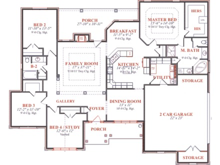 Houses and Plans Blueprints House Plans Builder Magazine
