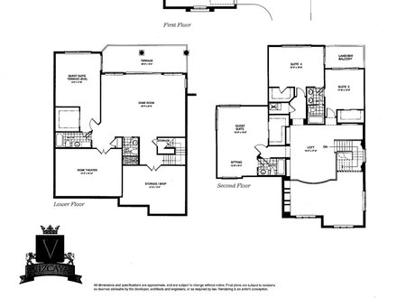 Lake front house floor plans lakefront home designs lake for Waterfront home plans sloping lots