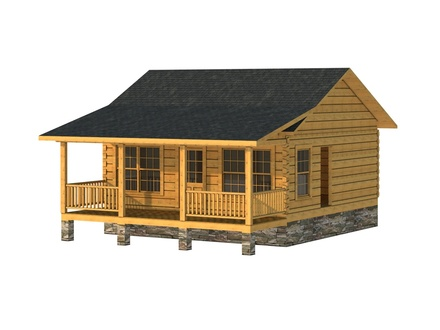 Log Cabin 600 Square Foot House Plans Log Cabin Trailers