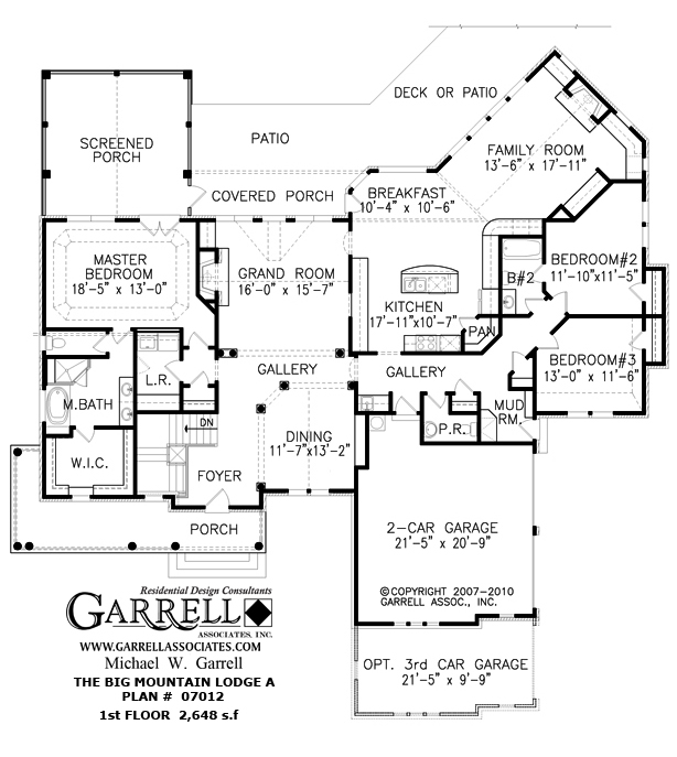 Mountain view house plans mountain house floor plan for Mountain view home plans