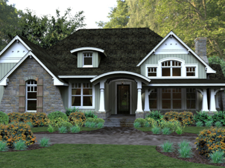 Popular Ranch Style House Plans Pleasant Cove House Plan